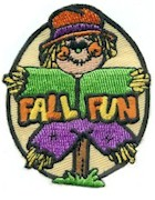 Girl Scout Fall Fun Patch