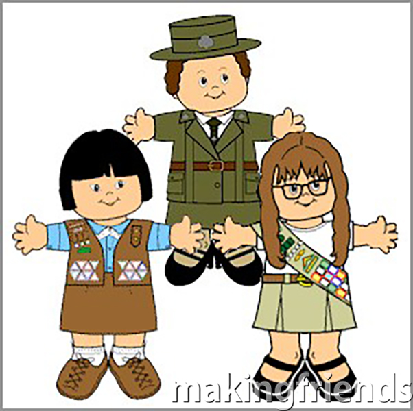 We have dozens of themes to choose from when you are making paper dolls. You'll be surprised how much your Girl Scout* troop will love making them! #paperdolls #makingfriends #freeprintables #free #printables #dolls #girlscouts #frontiergirls via @gsleader411