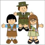Girl Scout and Girl Guide Paper Doll Friends