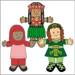 International Paper Doll Friends