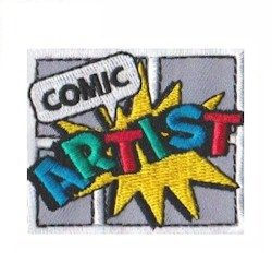 Cadette Comic Artist Girl Scout Badge