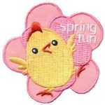 Girl Scout Spring Fun Patch