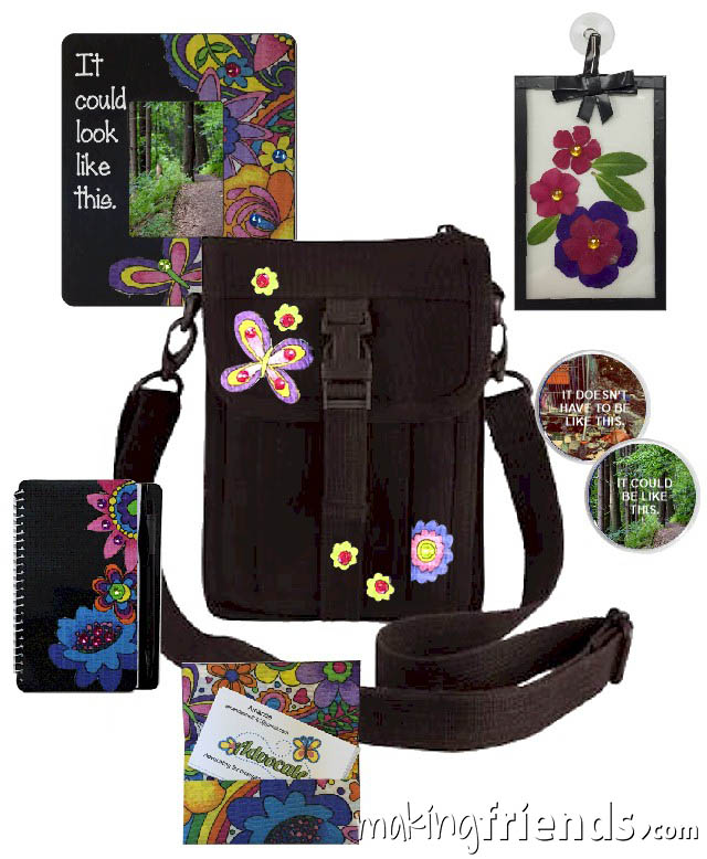 Girl Scout Ambassador Badge in a Bag via @gsleader411
