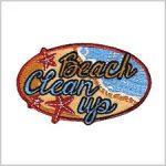 Beach Clean Up Girl Scout Fun Patch