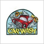 Car Wash Girl Scout Fun Patch