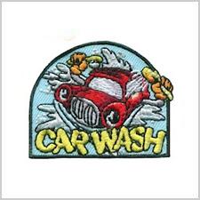Car Wash Girl Scout Fun Patch