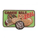 Girl Scout Cookie Sale Fun Patch