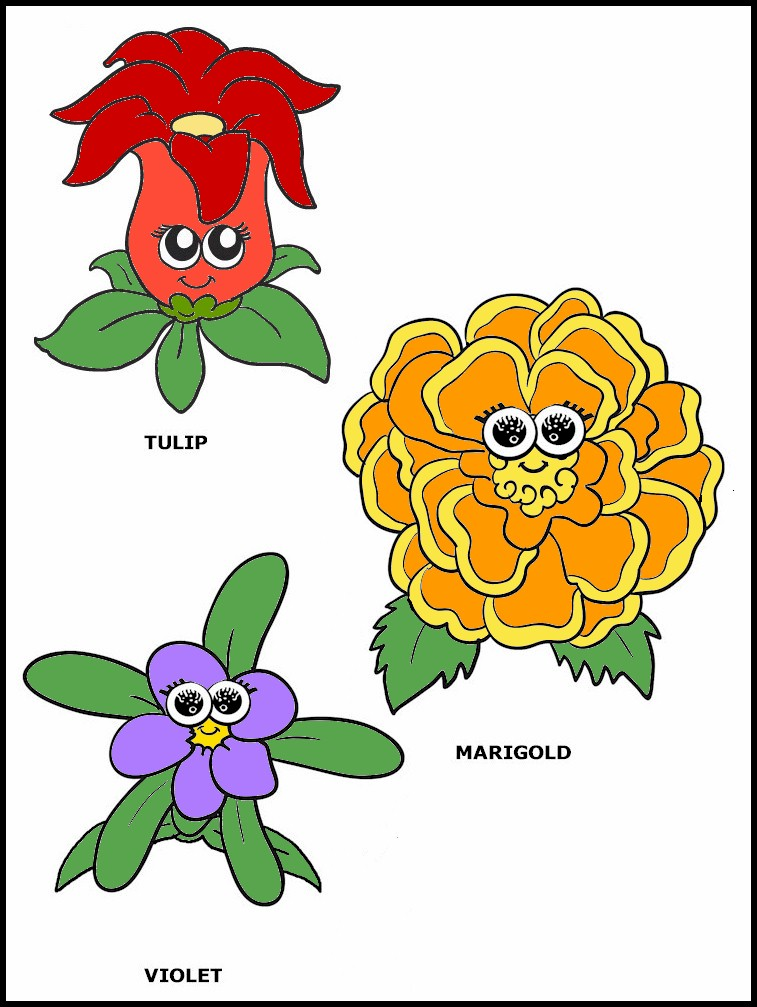 daisy flower puppet color printable  makingfriendsmakingfriends, Beautiful flower