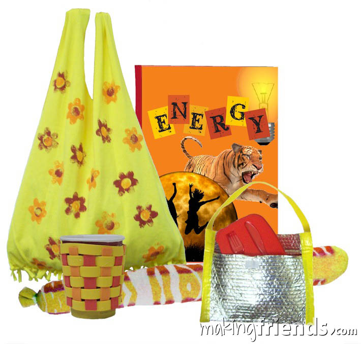 Girl Scout Energy Badge in a Bag via @gsleader411