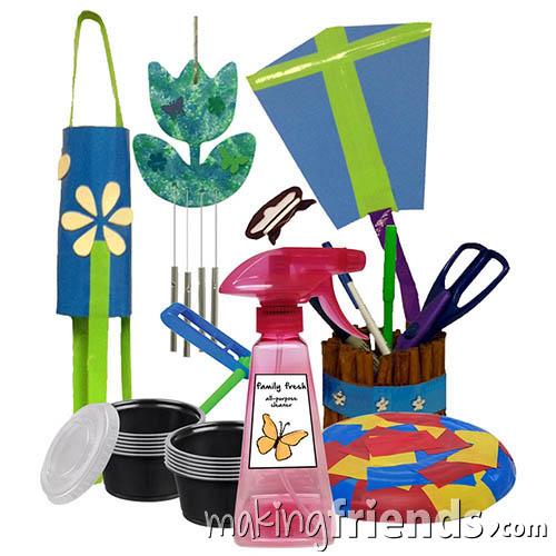 Girl Scout Fresh Air Badge in a Bag via @gsleader411