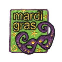 Mardi Gras Patch