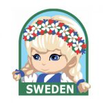 Girl Scout Sweden Fun Patch