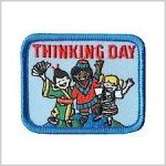 Thinking Day Girl Scout Fun Patch