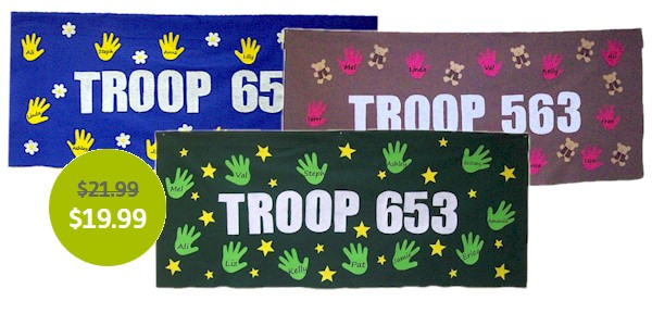 Girl Scout Banners