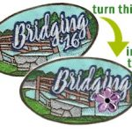 Girl Scout Bridging Patch