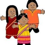 India Paper Doll Friends