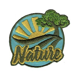 Girl Scout Nature Fun Patch