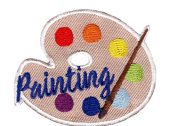 Girl Scout Painting Fun Patch