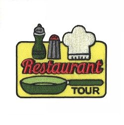 Girl Scout Restaurant Tour Fun Patch
