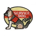 Service Dog Visit Girl Scout Patch