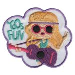 Girl Scout Sixties Fun Patch