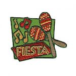 Fiesta Girl Scout Fun Patch