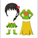 Superhero Paper Dolls | Charity Costumes