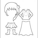 Superhero Paper Dolls | Charity Costumes Outline