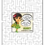 Girl Scout Daisy Light Green Petal Superhero Maze | Charity