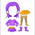 Superhero Paper Dolls | Delilah Clothes