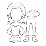 Superhero Paper Dolls | Delilah Clothes Outline