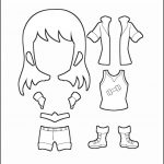 Superhero Paper Dolls | Freedom Costume Outline