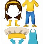 Superhero Paper Dolls | Harmony Clothes