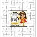 Girl Scout Daisy Yellow Petal Superhero Maze | Harmony