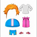 Superhero Paper Dolls |  Justice Clothes