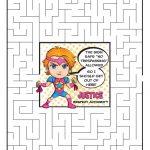 Daisy Magenta Petal Superhero Maze | Justice