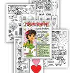 "Brownie Superhero Philanthropist Badge & Daisy ""Considerate & Caring"" Spring Green Petal Download"