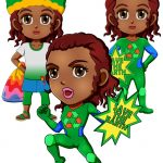 Girl Scout Superhero Prudence