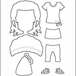 Superhero Paper Dolls | Prudence Clothes Outline
