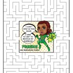 Daisy Green Petal Superhero Maze | Prudence