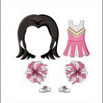 Superhero Paper Dolls | Serafina Clothes