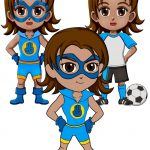 Girl Scout Superhero Sincerity