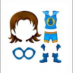 Superhero Paper Dolls | Sincerity Costume