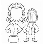 Superhero Paper Dolls | Twilight Clothes Outline