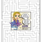 Daisy Violet Petal Superhero Maze | Willow