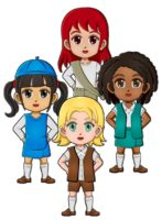 superheroes-in-girl-scout-uniforms