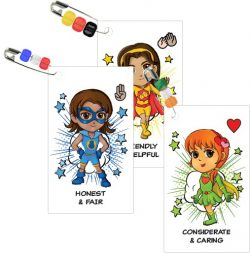 Girl Scout Superhero SWAP