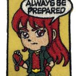 Be Prepared Girl Scout Fun Patch