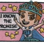 Girl Scout Promise Superhero Patch