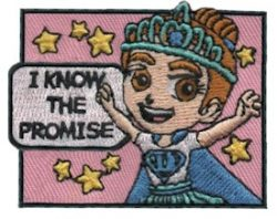Girl Scout Promise Fun Patch
